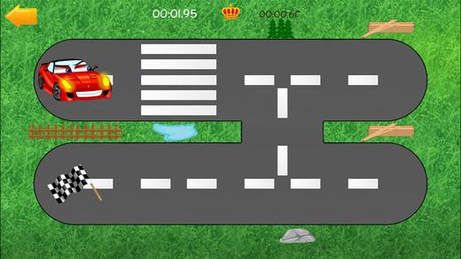 汽车道路迷宫 - 有趣的免费教育形状匹配游戏的孩子,男孩,幼儿和学龄前儿童