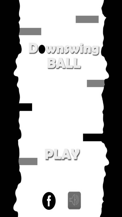 下挥杆球!
