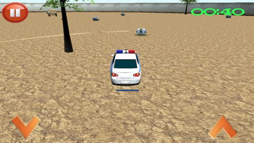 警车在现代战场生存竞赛