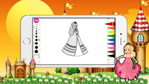 公主彩图儿童免费。
