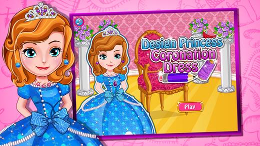 公主沙龙-设计小公主的加冕礼服