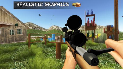 拍摄3D瓶 - 终极射击模拟器