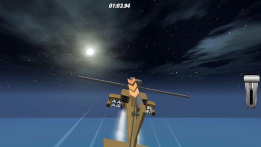真正的Heli飞行员战斗任务飞行3D