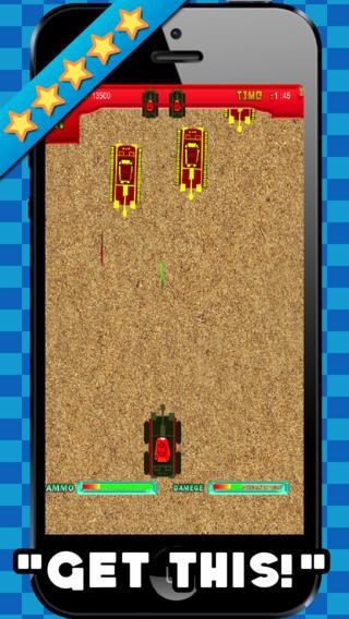 坦克突击免费射击游戏
