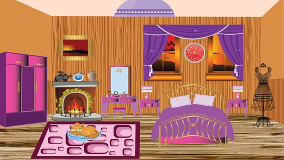 看中卧室装饰游戏