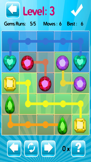 寶石滑塊-挑戰性滑動的益智遊戲 - Gems Slider - Challenging Sliding Puzzle Game