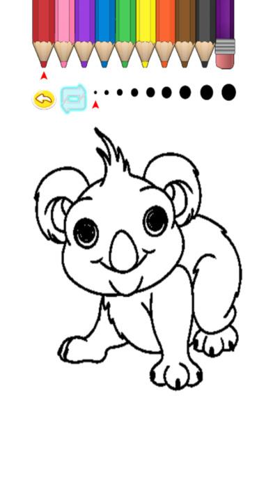 兒童圖畫書 - 可愛的卡通中川