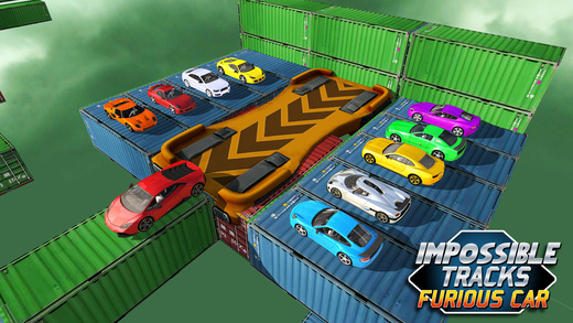 不可能的轨道 - 汽车特技和快速驾驶3D