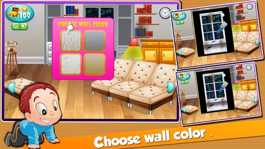 妈妈爸爸及维修房间 - 房子改造,清洁,装潢与固定的游戏