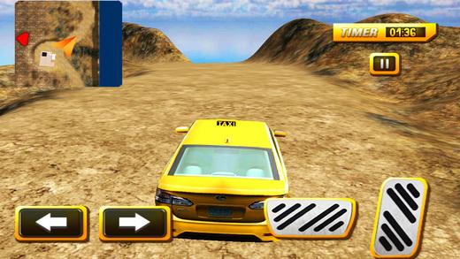 越野出租车汽车模拟器&疯狂的山驾驶