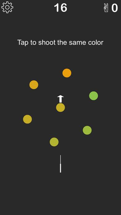 颜色狙击-辨别颜色,快速手速去击中相同颜色小球