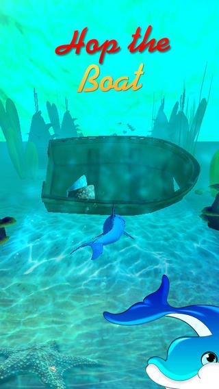疯狂的海豚鱼追逐-乐趣水下的冒险疯狂