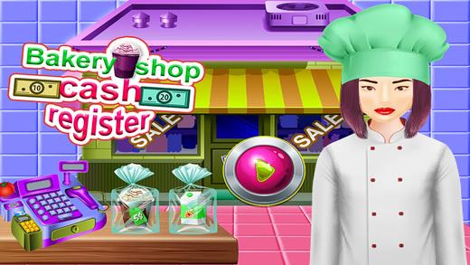 面包店店收银机&超市游戏