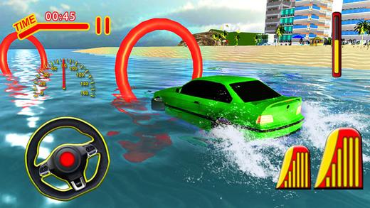 水上冲浪车驾驶 - 水下赛车