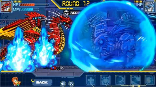 玩具机器人大战:机器冰龙