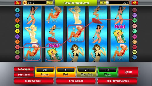 老虎机 - 幸运的女孩大奖赌场老虎机免费游戏