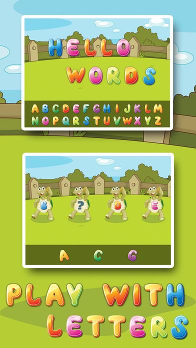 儿童字母龟 - 儿童学习字母和字母