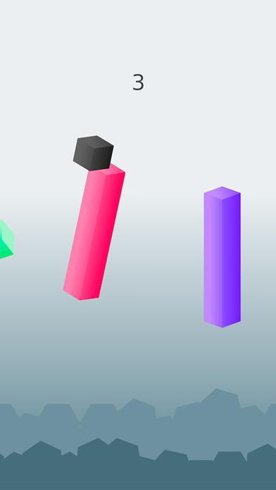 Cubism Jumps - Jumping on Pillars 免费完整中文版PopStar
