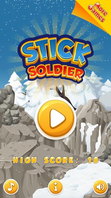 Stick Soldier - 免费儿童游戏 男孩和女孩
