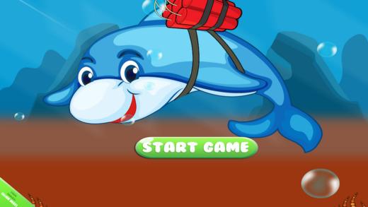 死亡齿轮海豚 - 水下捕捉游戏 免费