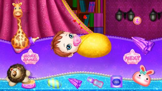 糖糖妈妈照顾可可公主新生儿:我们的宝宝叫叫莉比暖暖奇奇妈咪护理儿童女孩游戏