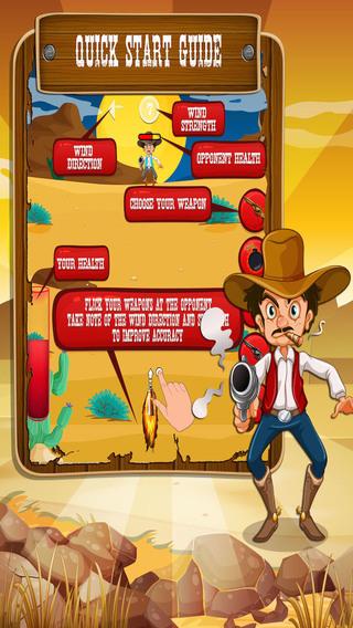 免费牛仔枪战 - 狂野的西部射击游戏!