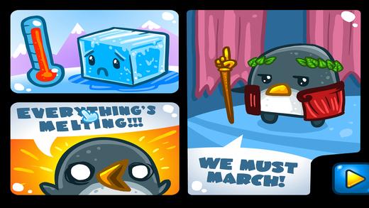 企鹅大营救 — 物理闯关游戏