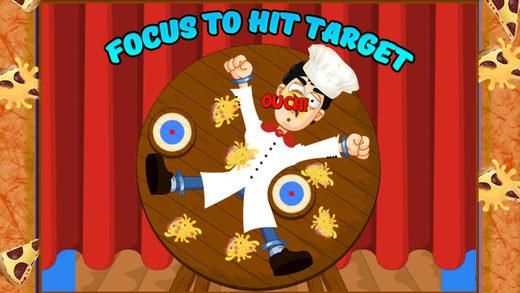 比萨镖轮攻击 - 瞄准目标 - 打