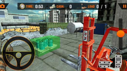 叉车模拟器 - 大型叉车模拟