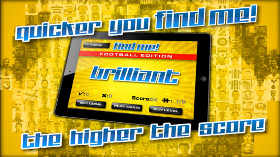 FindMe™ - 足球版