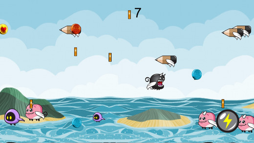 黑色怪物海冒险