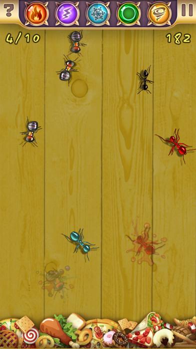 蚂蚁杀手虫虫粉碎机 - 用指尖魔法保卫食物
