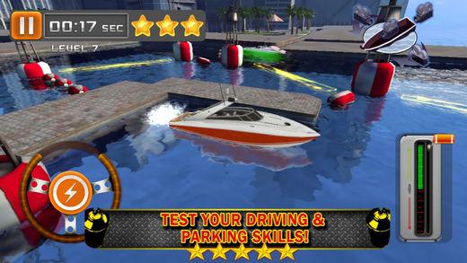 船停泊 3D - 驾驶游戏免费 (Boat Parking & Driving Games)