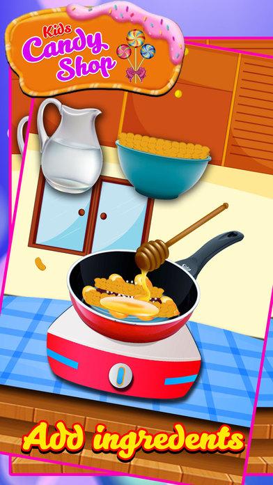 儿童糖果店 - 让甜点在这个烹饪游戏狂热的孩子