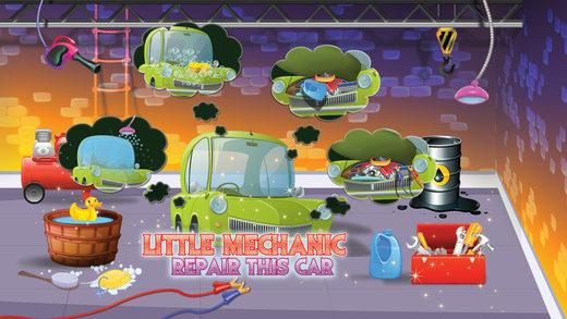 孩子们跳舞车 - 汽车维修及清洗疯狂游戏欢乐时光