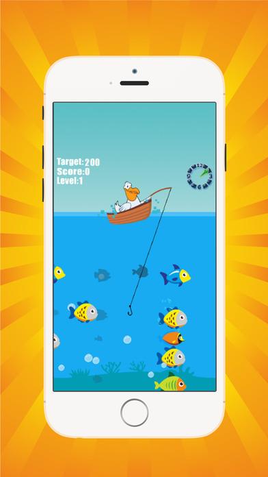 鸟钓鱼游戏 - 海洋动物为儿童教育游戏免费
