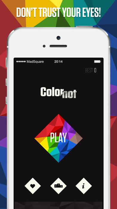 ColorNot - 不要相信你的眼睛