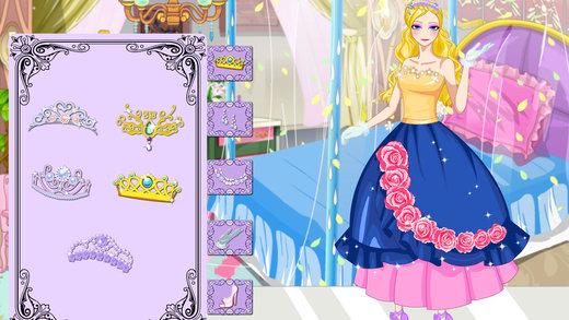设计女王礼服-女生装扮游戏