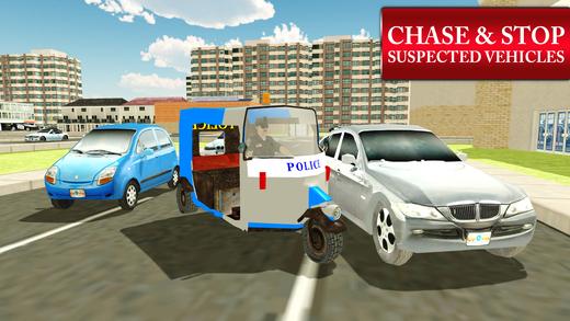 警方笃笃人力车模拟器和自动驾驶