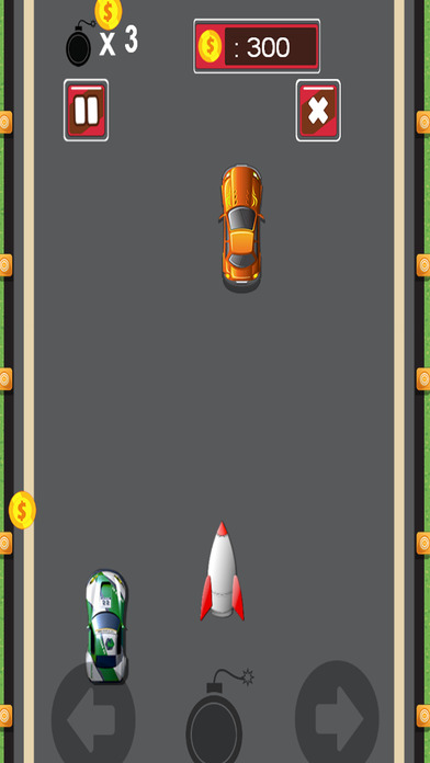 超级跑车速战火箭赛车游戏