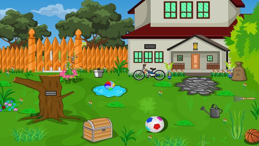 逃脱游戏后院房子