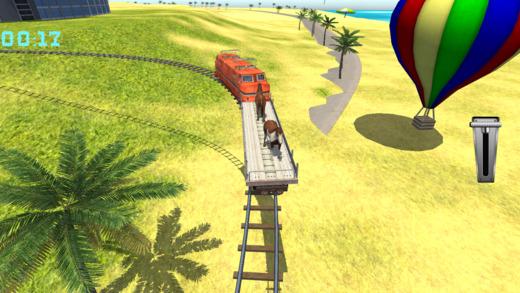 火车驾驶游戏指挥最后站停车