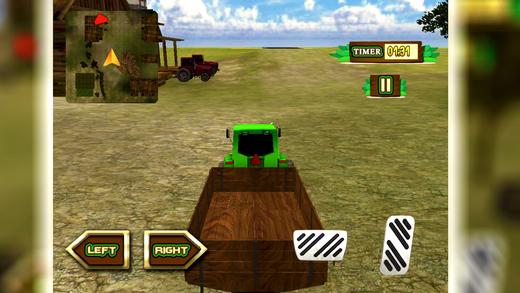 乡村拖拉机驾驶模拟器