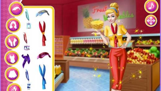 超市经理 - 女生穿衣搭配装扮游戏