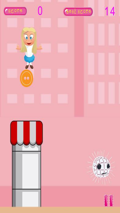 贝蒂的骨架挑选和组合按钮 - 缝纫店飞扬的冒险