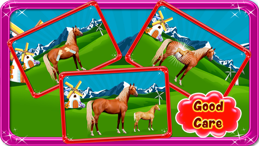 马妊娠手术 - 宠物兽医医生和医院模拟器游戏的孩子
