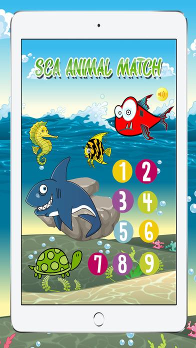 混搭为孩子们免费海洋动物游戏