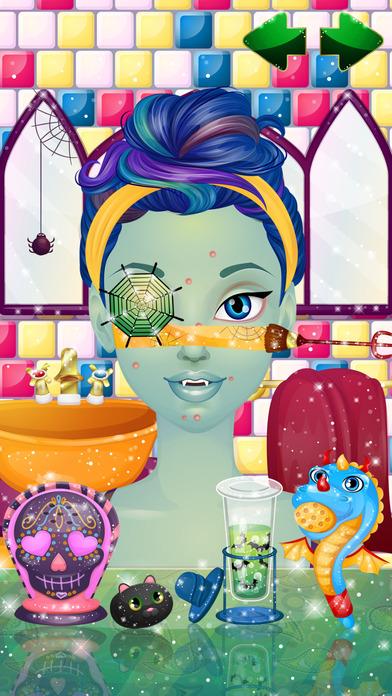 怪物的时尚沙龙 - 女孩子们的打扮、化妆游戏