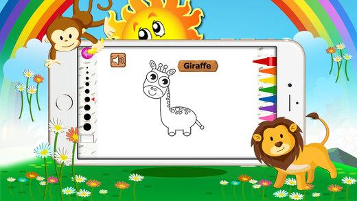 动物彩图:为小孩和孩子