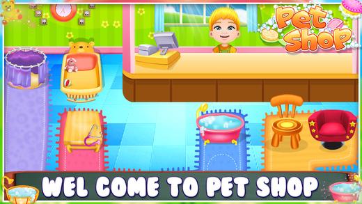 宠物店游戏